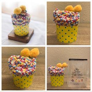 3 for $20 NWT Cozy Yellow Cupcake Socks